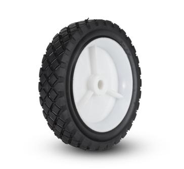 Plastic Wheel Diamond 7 x 1½
