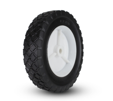 Plastic Wheel Diamond 8 x 1 ¾