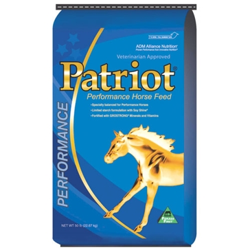 ADM Patriot Performance 14% Horse Feed 50lb