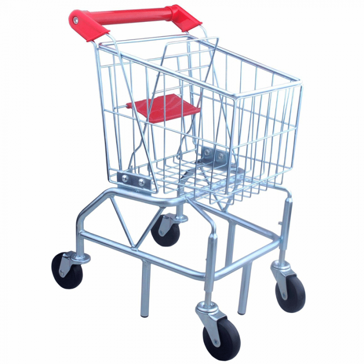 Focus On Toys Metal Shopping Cart Toy 73519
