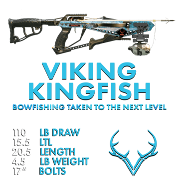 Viking Kingfish Recurve Crossbow Package 303