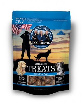 Founding Fathers Soft and Chew Dog Treats - Beef
