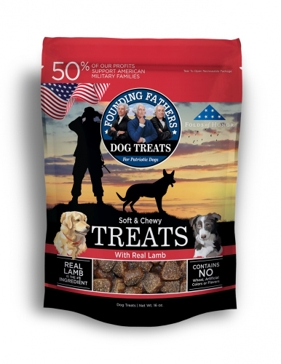 Founding Fathers Soft and Chew Dog Treats - Chicken