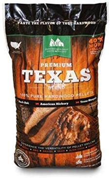Premium Texas Blend Wood Grilling Pellets - 28lbs.