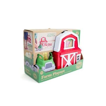 Green Toys Farm Playset PFRM-115