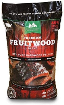 Premium Fruitwood Blend Wood Grilling Pellets - 28lbs.