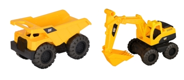 CAT Tough Tracks Rugged Machines 2-pack