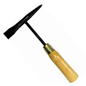 King Tools Chipping Hammer with Wood Handle