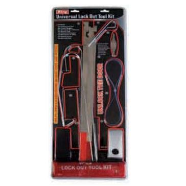 King Tools 9 Piece Universal Auto/Truck Locked Door Opening Kit