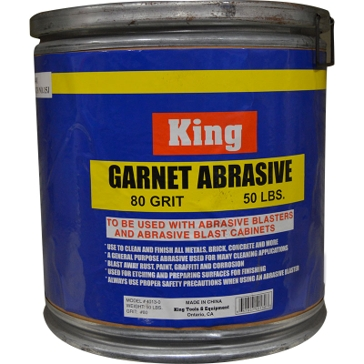 King Tools 80 Grit Garnet Abrasive