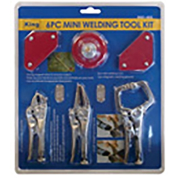 King Tools 6 Piece Mini Welding Tool Set