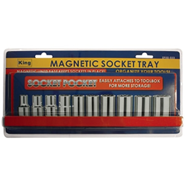 King Tools Magnetic Socket Tray