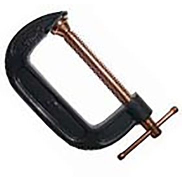 """King Tools 3"""" Carded C-Clamp"""