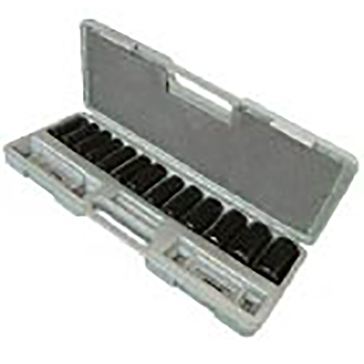 King Tools 14 Piece Deep Socket Set