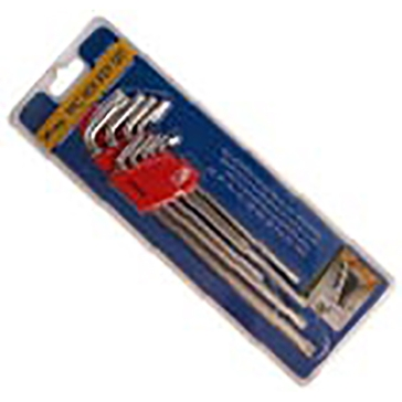 King Tools 9 Piece Hex Key Wrench