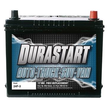 Dura-Start Top Post 525CA Battery 24F-3