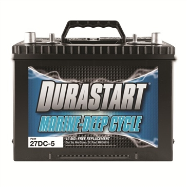Dura-Start Marine/RV 675CA Deep Cycle Battery 27DC-5