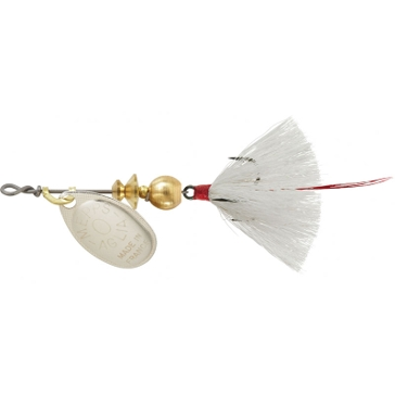 Mepps Dressed Treble Aglia Lure 1/12oz Silver Blade w/White Tail