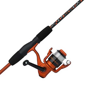 "Shakespeare Amphibian Spinning 5' 6"" Medium Youth Rod/Reel Combo Orange"