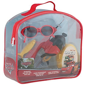 Shakespeare Disney Cars Backpack Youth Fishing Kit