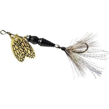 Mepps Dressed Thunder Bug Lure 1/12oz Gold Blade w/Dragon Fly Body