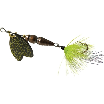 Mepps Dressed Thunder Bug Lure 1/12oz Brown Blade w/Cricket Body