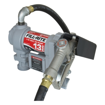 FILL-RITE 115V AC Pump w/ Hose and Manual Nozzle SD602G