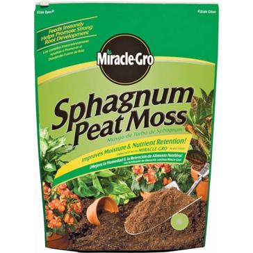 Miracle-Gro Sphagnum Peat Moss 8Qt