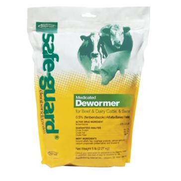 Safeguard .5% Pelleted Horse Wormer 040102