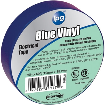 Intertape Polymer Group Blue Electrical Tape 85831