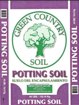 Green Country Potting Soil 40lb