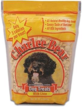 Charlee Bear Liver 16oz. Dog Treats