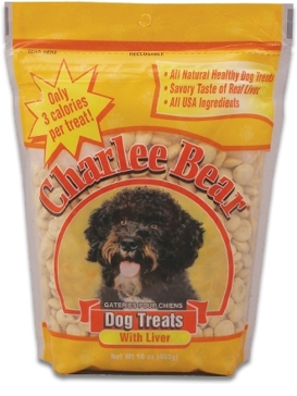 Charlee Bear Liver 16oz. Dog Treats