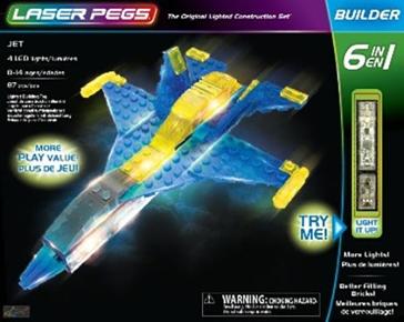 Laser Pegs Jet Kit