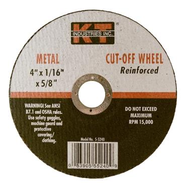 K-T Industries 4 X 1/16 X 5/8 Cutting Wheel 5-5240