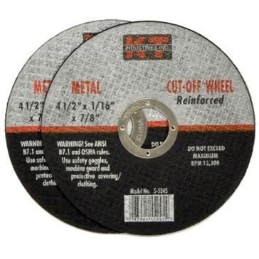 K-T Industries 4-1/2 X 1/16 X 7/8 Cutting Wheel 5-5245