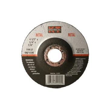 K-T Industries  4-1/2 X 1/4 X 7/8 Metal Grinding Wheel 5-4245