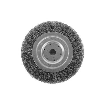 "K-T Industries  6"" Wheel Brush Wide 5-3330"