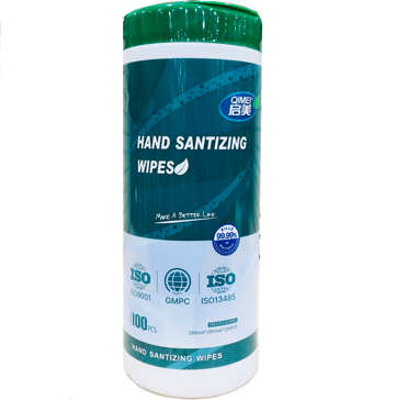 Hand Sanitizing Wipes - 100 count
