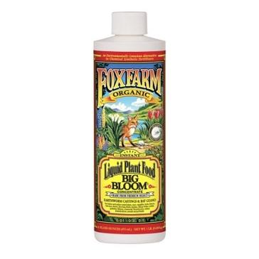 FoxFarm Big Bloom Liquid Concentrate Organic Plant Food 1 Pint Bottle