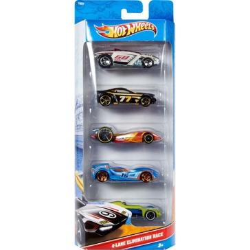 Mattel Hot Wheels® 5-Car Pack Assorted
