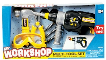 Keenway Industries My Workshop Multi-tool Set Power Tools And Hand Set