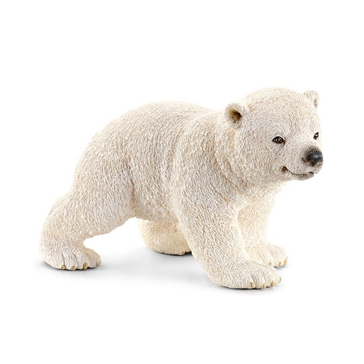Schleich Polar Bear Cub (walking)