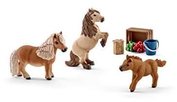 Schleich Miniature Shetland Pony Family 41432