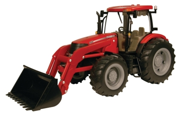Ertl 1:16 Big Farm Case IH 195 Tractor With Loader 35634