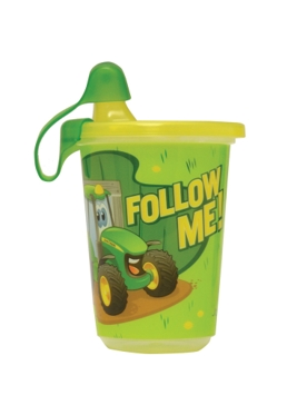 Ertl 3-Pack 10 Oz. John Deere Take & Toss Sippy Cup Y9613A