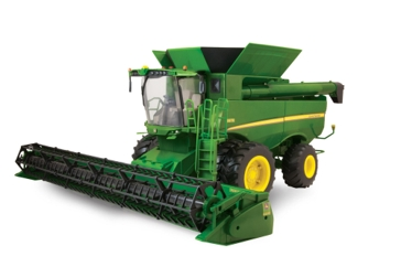 Ertl 1:16 Big Farm S670 Combine with 630R Grain Head Farm Toy 46070