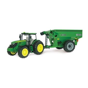 Ertl Big Farm 1:16 John Deere 6210R Tractor with Grain Cart