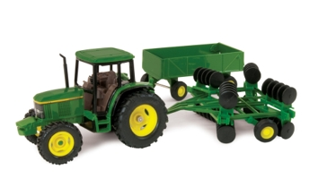 Ertl 1:32 John Deere 6410 Tractor with Barge & Disk 15489