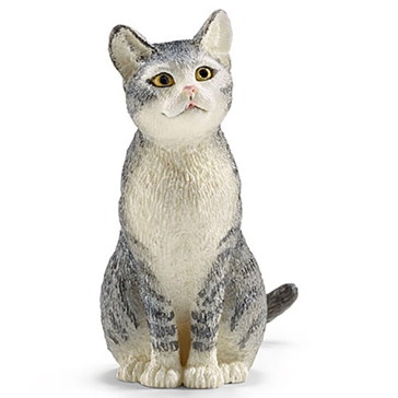 Schleich Cat (sitting) 13771